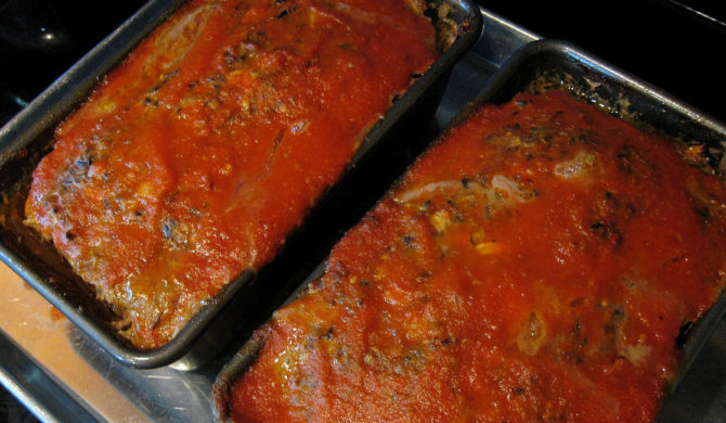 Comfort Food – Meatloaf